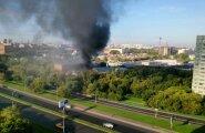FOTO JA VIDEO: Moskvas lahvatas põlema trükikoda, hukkus vähemalt 17 inimest