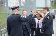 FOTOD: President Ilves: piirivalvurid Narvas hoiavad ka kogu Eesti turvatunnet