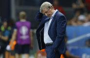 VIDEO: Inglismaa peatreener pani kohe pärast kaotust ameti maha