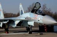 GRAAFIK: Venemaa saatis Süüriasse oma uusima ja võimekaima hävitaja