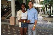 Shaunae Miller ja Maicel Uibo