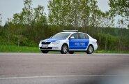 Gumball 3000 politseijõud Pärnu maanteel