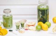 Detox nädalavahetusest: Ühepäevane smuutikuur, mis puhastab keha nädalavahetuse ülesöömistagajärgedest