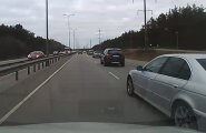 VIDEO: BMW juht rammis Järvevana teel lugeja autot