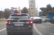 VIDEO: Audi juht ülbitseb Viru ringil