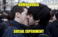 Sotsiaalne EKSPERIMENT: kuidas reageerivad erinevad inimesed homofoobiale?