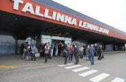ФОТО: Взрывом в Таллиннском аэропорту угрожал русскоговорящий мужчина, находящийся в местах заключения