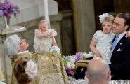 Peapiiskop Antje Jackelen hoiab prints Oscarit süles