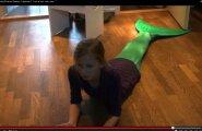 HittVIDEO: Enam kui 2 miljonit YouTube'i vaatamist saanud Eesti tüdruku merineitsilugu!