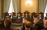 Eilsel avalikul riigikohtu istungil avanes tavatu pilt, kus kaasust arutas viis kohtunikku.