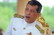 Vajiralongkorn on 13. oktoobril surnud Tai kuninga ainus poeg. Pildil vaatab ta Bangkokis iga-aastast kohalikku künnitseremooniat.