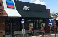 Okupeeritud Luganskis tegutseb võlts-McDonalds