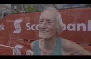 VIDEO: Uskumatu, aga tõsi: 85-aastane vanahärra jooksis maratonis omaealiste maailmarekordi, aeg alla nelja tunni!