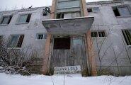 Kolhoosiaegne kortermaja Vaali külas.
