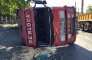 Alkoholijoobes veokijuht põhjustas Sirbi peatuses õnnetuse