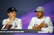 Rosberg ja Hamilton