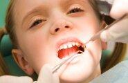 Laps hambaarsti juures.