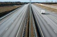 Отчет: дороги в Эстонии лучше, чем в Латвии, но хуже, чем в Литве