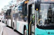 Bussiõnnetus Tallinna Ülikooli juures