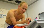 Rait Ratasepp Tartu ülikooli spordifüsioloogia laboris.