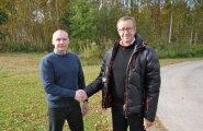 FOTO: President Ilves kohtus Vene vanglast pääsenud Eston Kohveriga