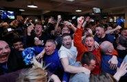 VIDEO ja FOTOD: IMEDE IME! Suurüllataja Leicester City on Inglismaa meister, Tottenham ei suutnud Chelseat võita