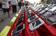 Tänavu müüakse maailmas uskumatu hulk telefone