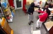 VIDEO: Hulljulge naine paneb ülbe röövli paika