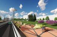 ФОТО: Как будет выглядеть ведущее в Таллиннский аэропорт мини-метро