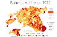 Rahvastiku tihendus 1922