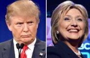 Trump ja Clinton