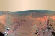 VeterankulgurOpportunity tehtud panoraamfoto Marsist. See on kokku pandud 800 ülesvõttest.