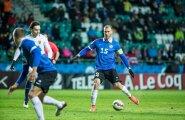 Eesti vs Norra jalgpall