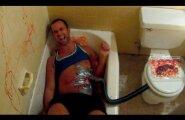 VIDEO: Võtab ennastki värisema! Noormees teeb oma sõbrale erakordselt karmi tünga
