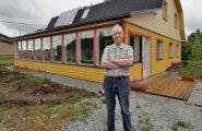 """""""Maja projekteerimisel rõhusin funktsionaalsusele ja ökonoomsusele. Tulemus on see, mis soovisin,"""" ütleb Ott Penek."""