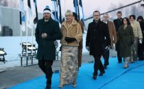 FOTOD | Kes see veel on? Näitlejanna Ülle Lichtfeldt rabas presidendi vastuvõtul täiesti uue välimusega