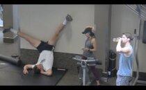 VIDEO | Kuidas reageerivad inimesed kõige ajuvabamate jõusaali harjutuste peale?