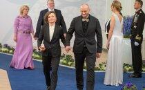 Riigikogu liige Yoko Alender ja hr Priit Juurmann