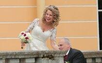 DELFI FOTOD: Hõissa, pulmad! Jaan Toots ja Eve Kirs sõlmisid altari ees igavese liidu, pidu toimus uhkes Maardu mõisas