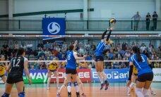 Naiste võrkpallikoondis kaotas napilt Soomele ja jäi alagrupis neljandaks