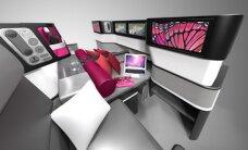 Maailma kõige paindlikum lennuki-iste: turistiklassi toolist esimese klassi voodiks