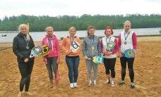 Viljandis selgitati kolmandat korda Eesti meistrid rannatennises