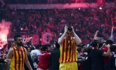 Euroliiga algas pauguga: debütant alistas Barcelona