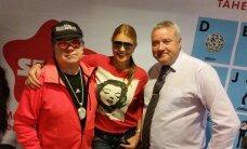 Star FM hommikustuudios vembutavad Anu Saagim ja Jan Uuspõld