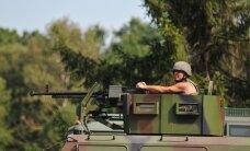 Госпогранслужба Украины подтянула к границе с Крымом тяжелые вооружения