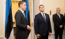 ФОТО: Ратас перенял дела у Рыйваса: низкий поклон тебе за то, что ты сделал для Эстонии