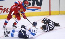 ФОТО и ВИДЕО: Россия победила финнов и сыграет в полуфинале с Канадой