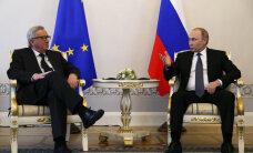Путин и Юнкер обсудили энергетическую проблематику