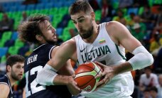 Leedu korvpallurid alistasid ka Argentina ning tõusid USA kõrvale
