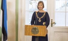 Президент Керсти Кальюлайд первые визиты нанесет в Финляндию и Латвию